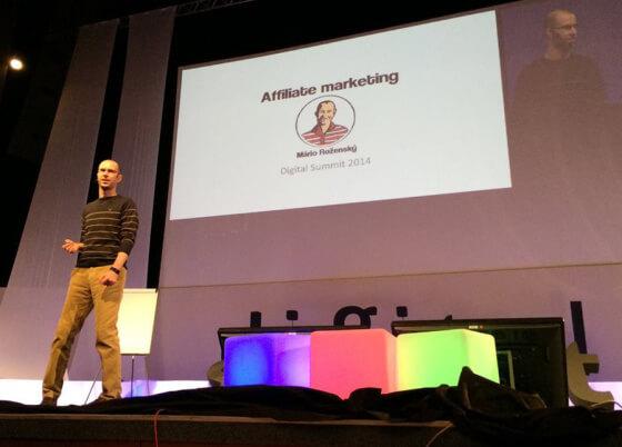 Přednáška na akci Digitall summit