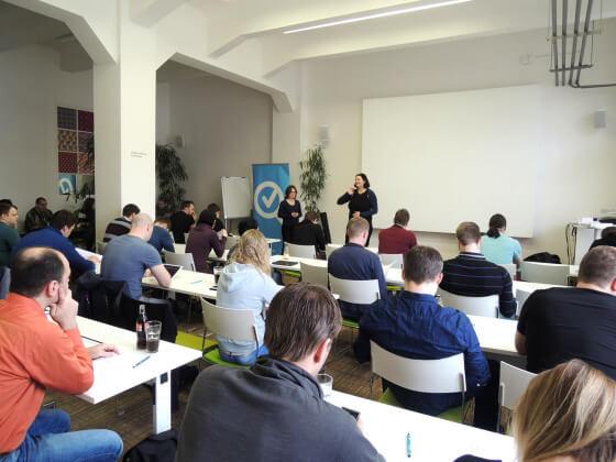 Představení projektu Certifikace Heuréka v podání Veroniky Slavíkové a Petry Mikuláškové