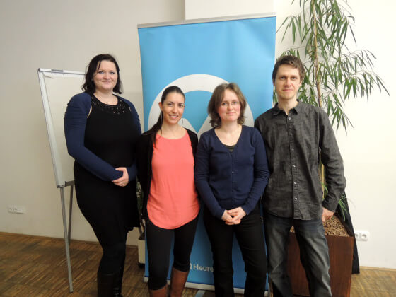 Veronika, Monika, Petra a Mirek - Realizační tým.