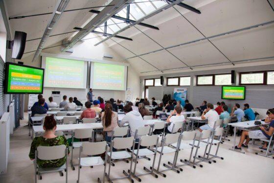 Přednáškový sál na Eshop víkendu