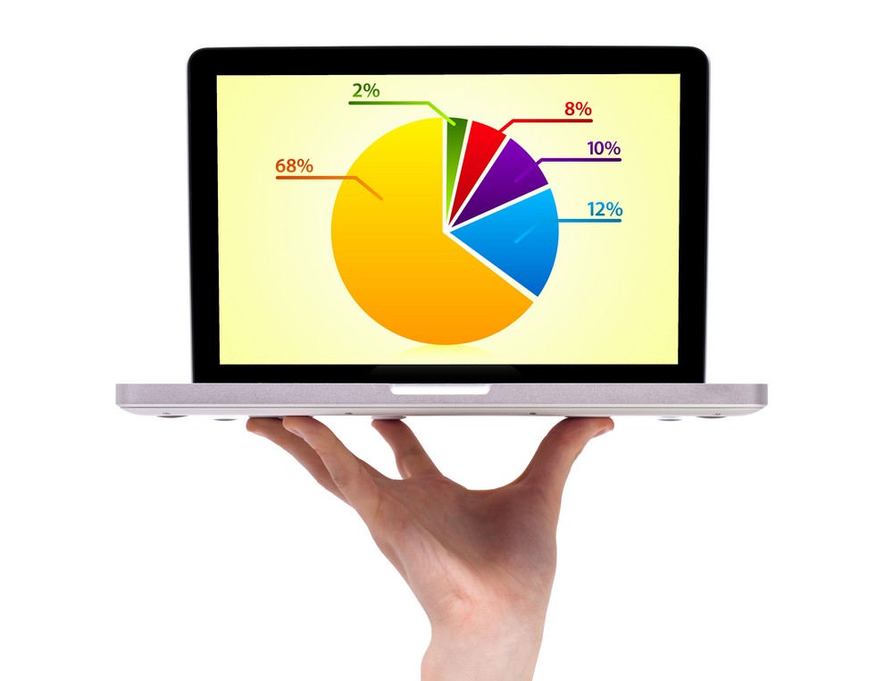 Monitor se statistikou