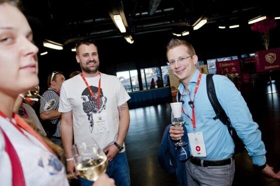 Na Shopexpo jste mohli potkat Jana Řezába ze Socialbakers, který byl současně jedním z řečníků hlavního sálu.