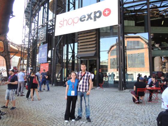 Na Shopexpo jsem poznala nejen nové tváře, ale také potkala již známé tváře. V tomto případě se jedná o Tomáše Horkého z e-shopu www.hsport.cz.