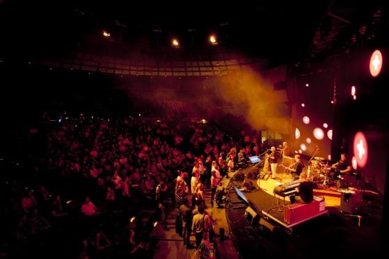 Čtvrteční večer byl ve znamení živé hudby od BUTY a Mňága&Žďorp.