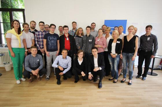 Společně foto účastníků na závěr.