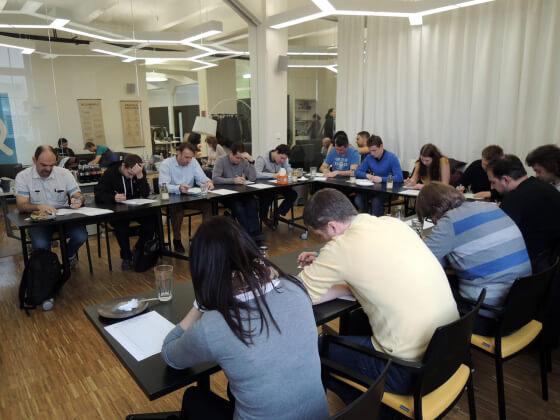 Závěr celodenního školení - Certifikační test